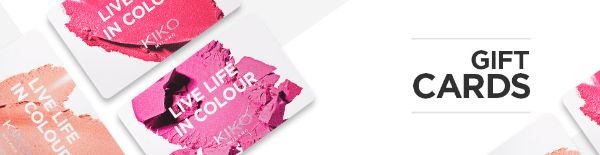 058e2b985936a A KIKO Gift Card is a gift voucher that can be used online or in stores.  When used online