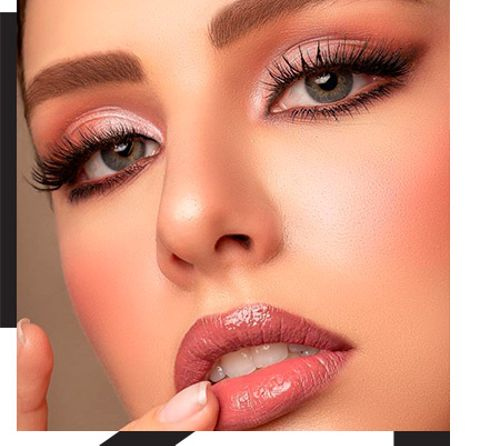All-out glamour: evening makeup for special occasions