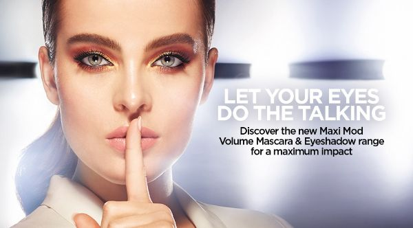eaea42cdfbc Make your gaze take the center stage with the new Maxi Mod Mascara for maxi  volume and definition & our two latest eyeshadow innovation: Magnetic  Impact and ...
